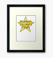 Young Talent Time? Framed Print
