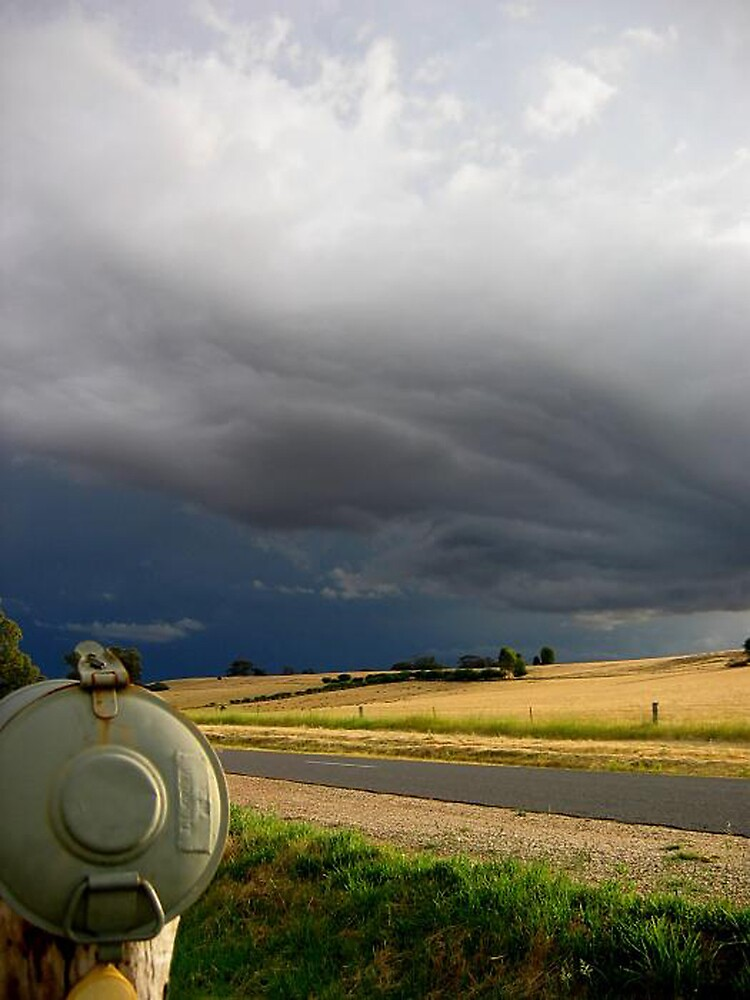 Country Australia - summer storms in the Christmas holidays by AUSSKY