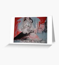 Ride of Love Greeting Card