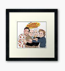 Best Friends Game of Thrones Framed Print