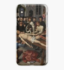 The Judgment of Cambyses 1498 - 1499 Gerard David iPhone Case/Skin