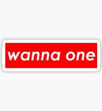 Wanna One - Supreme Sticker