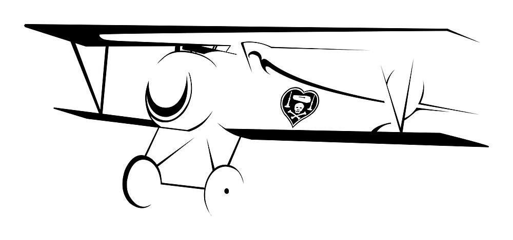 WWI - Nieuport 17 - Nungesser by AlphaEchoing