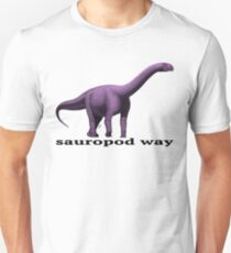 Sauropod way violet T-Shirt