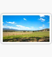 King Valley ...Australia. Sticker