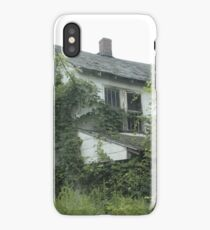 Abandoned Home Ivy Trees iPhone Case/Skin
