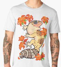 Fire lily gecko Men's Premium T-Shirt