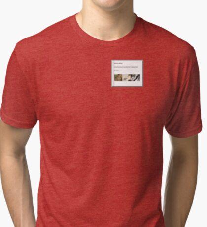 Africa calling - The Book Tri-blend T-Shirt