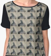 Mask - Love for Pigeons Chiffon Top