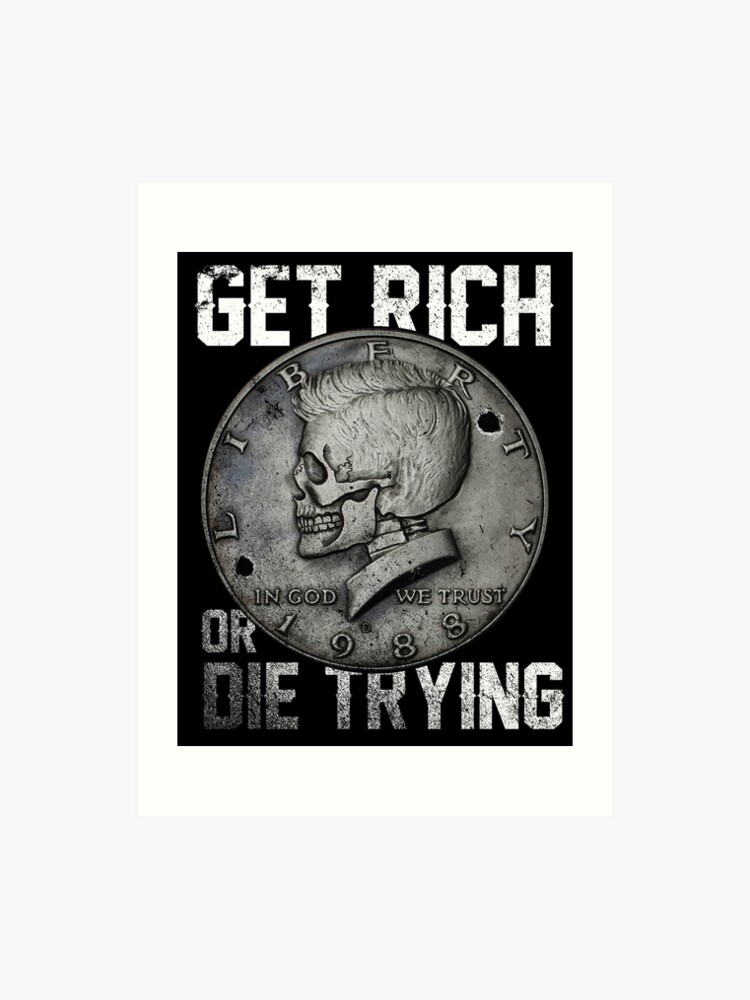 Get Rich Coin | Art Print
