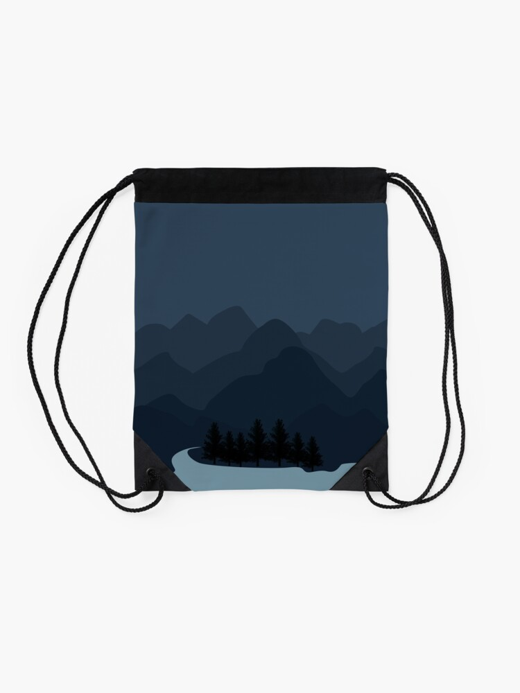Alternate view of Into The Valley Drawstring Bag