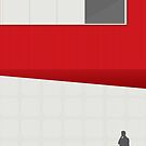 Funky Little Red Building by modernistdesign