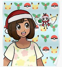 Sun and Moon Holiday Poster