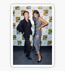 Tom and Zendaya Sticker