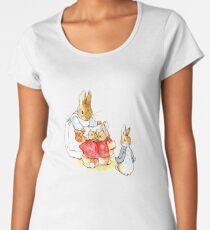 Peter Rabbit and Family Women's Premium T-Shirt