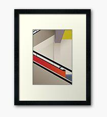 Funky Little Staircase Framed Print