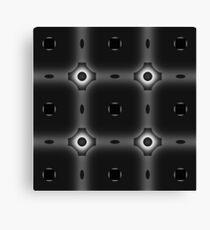 Shades of Black & White Canvas Print