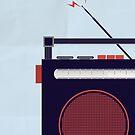Funky Little Radio by modernistdesign