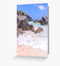 Horseshoe Bay, Bermuda Greeting Card