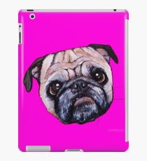 Butch the Pug - Pink iPad Case/Skin