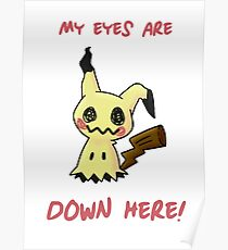 My Eyes Are Down Here! Poster