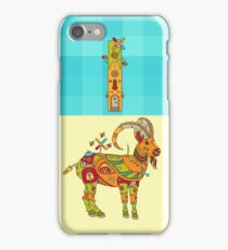 I for Ibex, from the AlphaPod collection iPhone Case/Skin