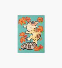 Fire lily gecko Art Board