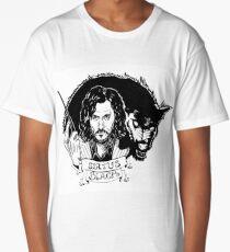 Sirius Black: Padfoot Long T-Shirt