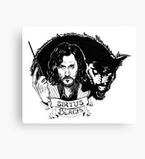 Sirius Black: Padfoot Canvas Print