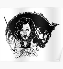 Sirius Black: Padfoot Poster