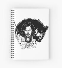 Sirius Black: Padfoot Spiral Notebook