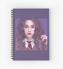 MW by MR Curly Hair Spiral Notebook
