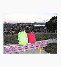 Through a childs eyes (Gungahlin, Australian Capital Territory) Photographic Print