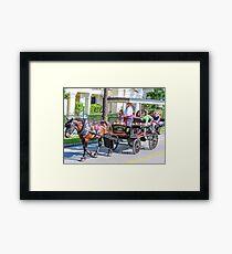Charleston City Tours Framed Print