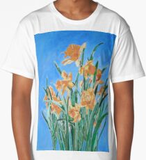 Golden Daffodils Long T-Shirt