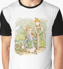 Peter Rabbit Steals Carrots Graphic T-Shirt