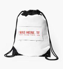 ATBP Wander series: The Pendleton Pike Drive-in Movie screen Drawstring Bag