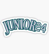 """Seattle #24 """"Junior24"""" Sticker"""
