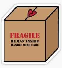 Fragile Human Sticker