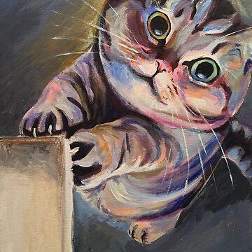 Scratchy Cat by Ubermoosh