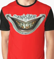 Sinister Grin Press Graphic T-Shirt
