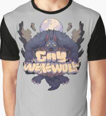schwuler Werwolf Grafik T-Shirt