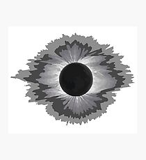 THE SUN SHALL BE BLOTTED FROM THE SKY & LIGHTNING RAIN UPON THE BURNING FACES OF THE UNHOLY & PLAGUES RAVAGE THE EARTH CUZ... CUZ THAT'S JUST HOW IT HAS TO BE OK STOP QUESTIONING [Eclipse Merchandise] Photographic Print