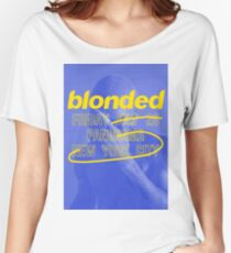 Frank Ocean - Blonded Live at Panorama New York City 2017 (Blue) Women's Relaxed Fit T-Shirt