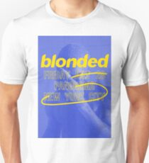 Frank Ocean - Blonded Live at Panorama New York City 2017 (Blue) T-Shirt