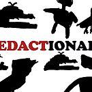 #Redactionart by misskoko