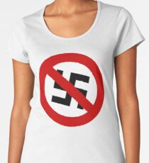 Anti-Nazi Logo Women's Premium T-Shirt