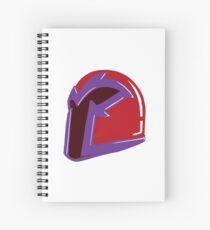 Magneto's Helmet Spiral Notebook