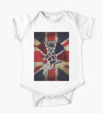 Union Jack Punk Skull Kids Clothes
