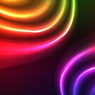 Abstract bright neon emotions   by CroDesign